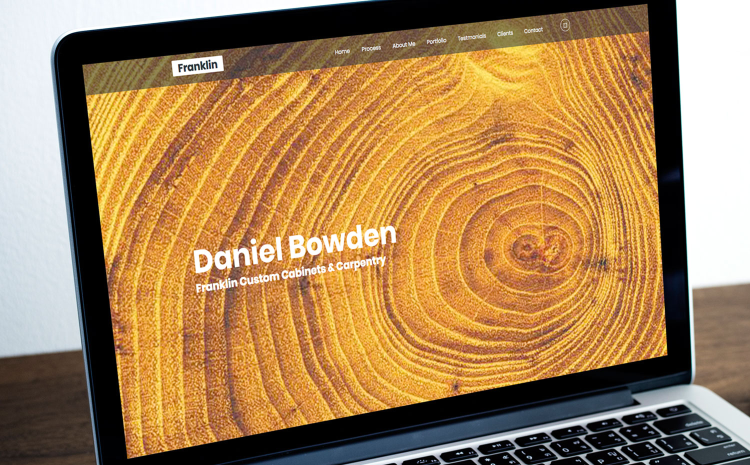 Daniel Bowden Carpentry website