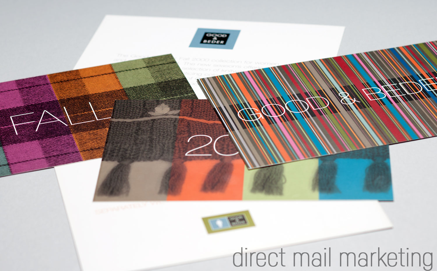 Good & Beder | Directmail Fall 2000